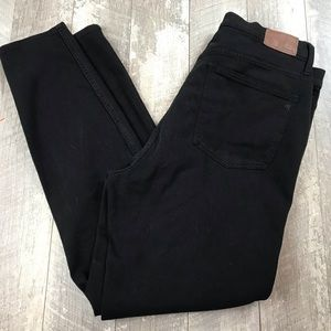 """Madewell Jeans - Madewell 10"""" High Rise Skinny black size 32"""